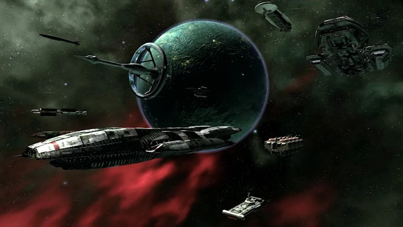 Battlestar Galactica online - Screenshot des Science Fiction Browsergames